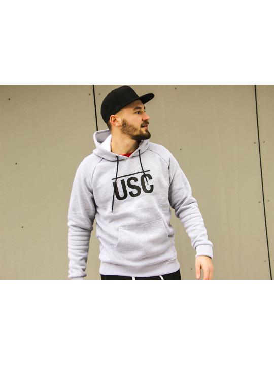 Mikina USC Hood Grey